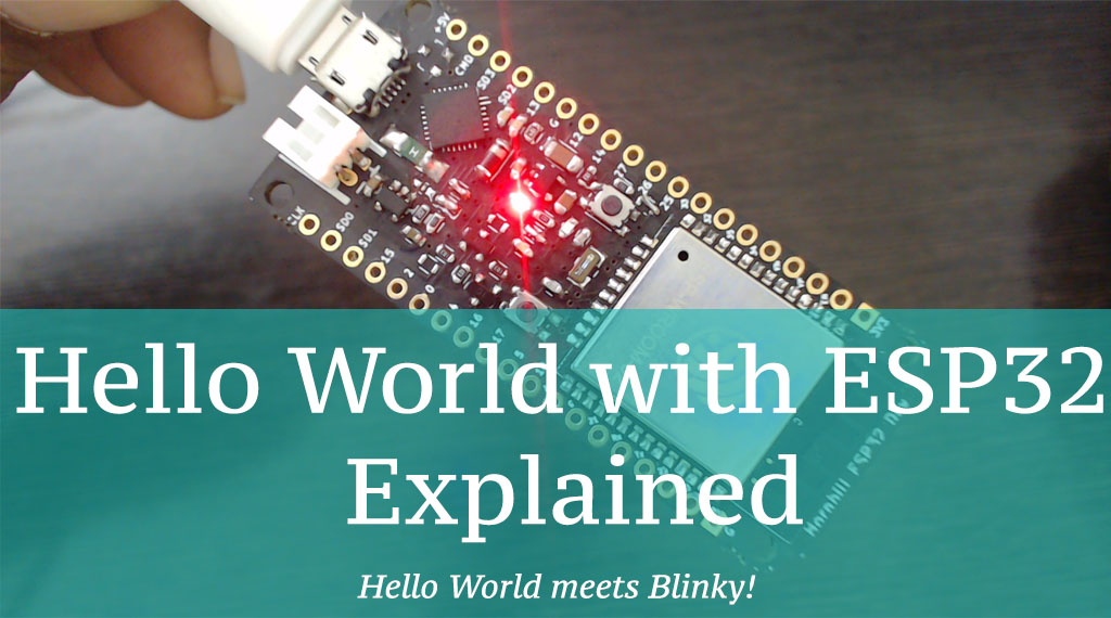 Hello World with ESP32 Explained - Tutorials
