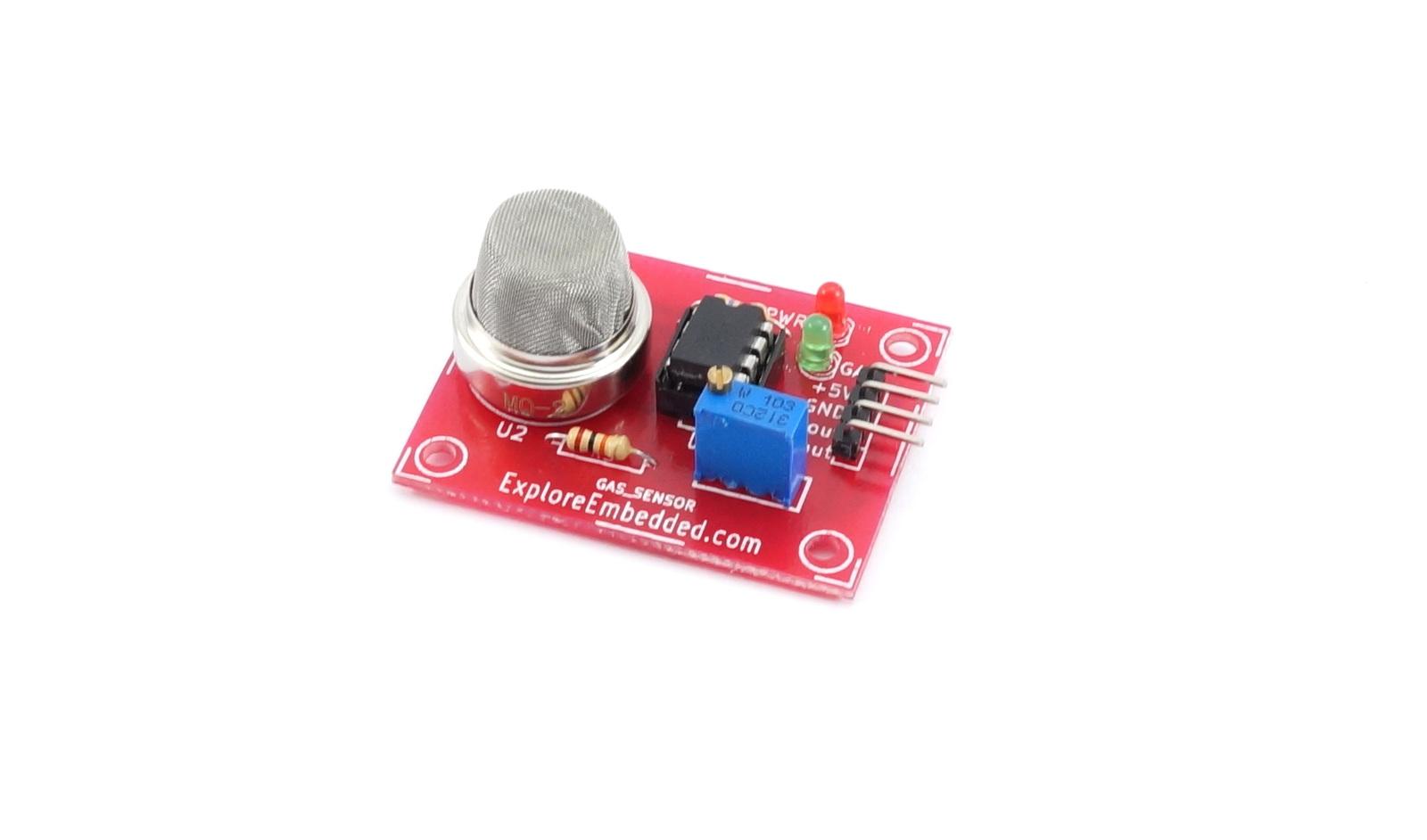 Smoke Sensor (MQ2) board - Tutorials