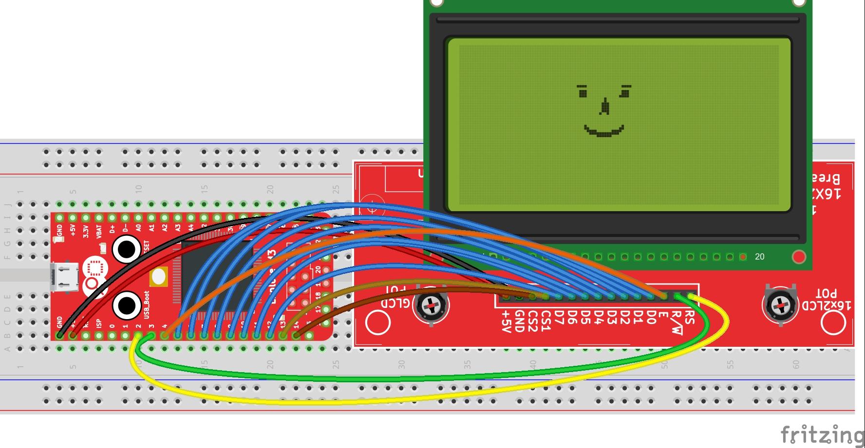 Graphics Display KS0108 with Explore M3 - Tutorials